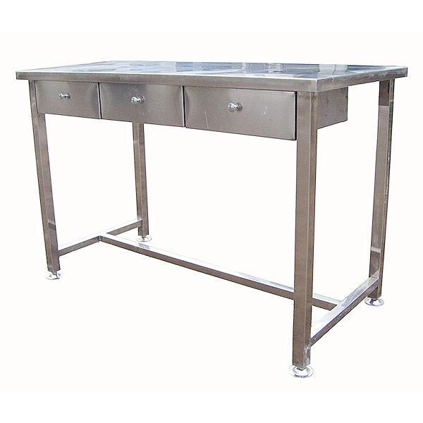 【防静电工作台定制】DH-C4不锈钢工作台