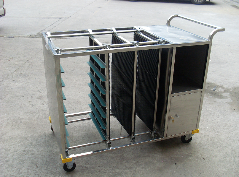 DH0208 防静电PCB板平置存放周转车.
