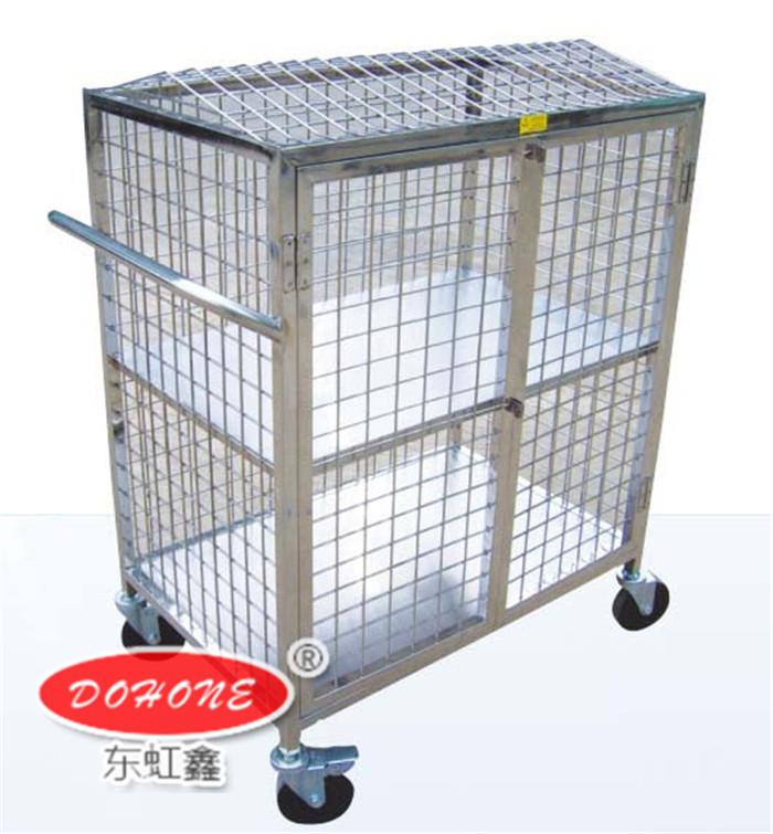 DH-A4不锈钢保全手推车