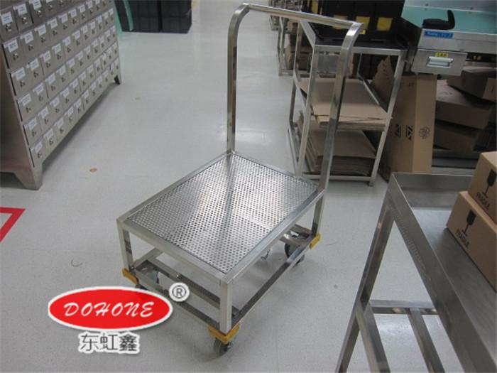 DH-A14不锈钢单层手推车