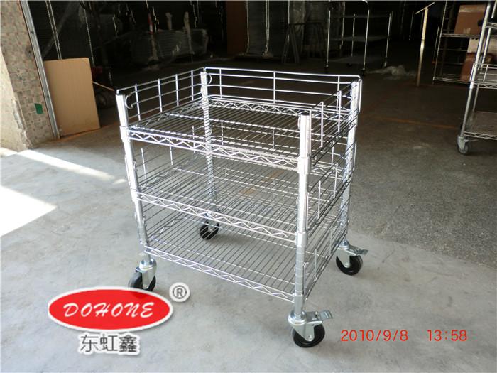 DH-A30防静电线网推车
